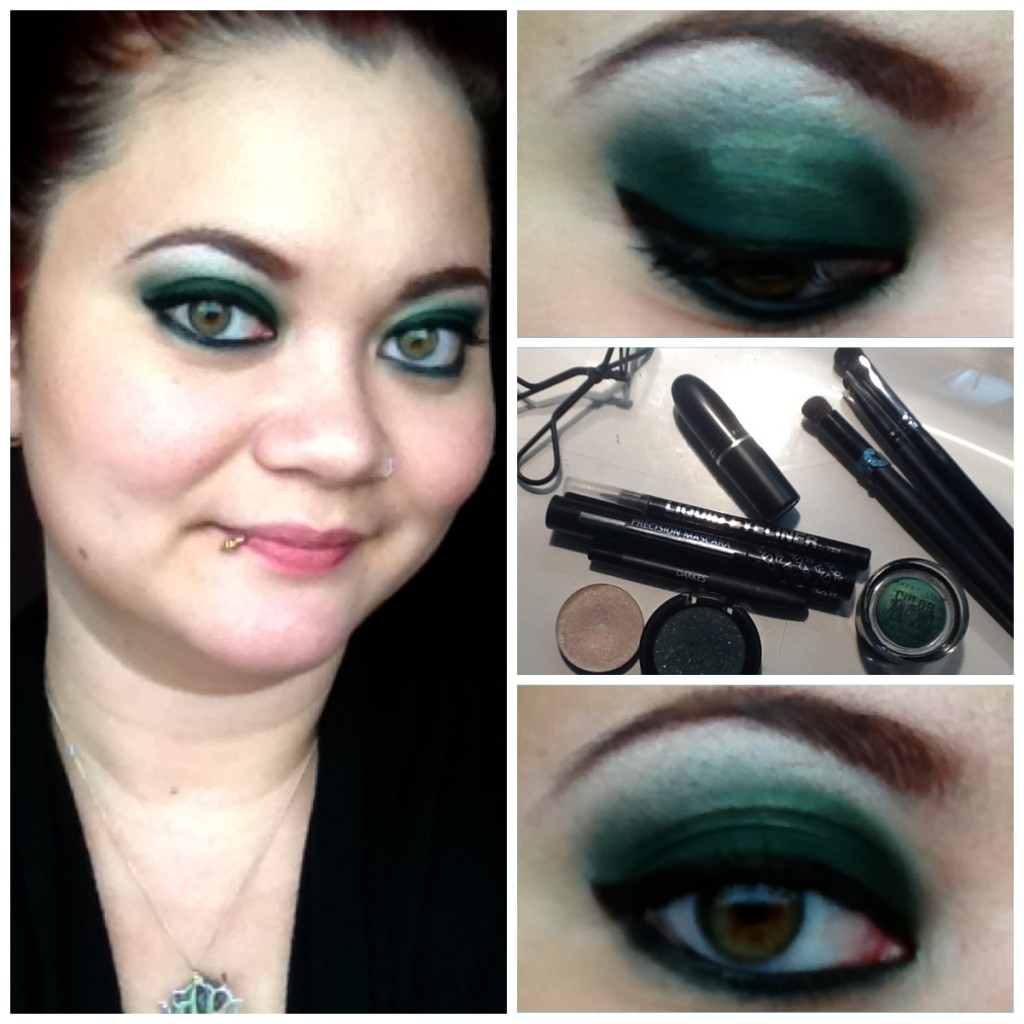Tutorial: Emerald Green Smokey Eye
