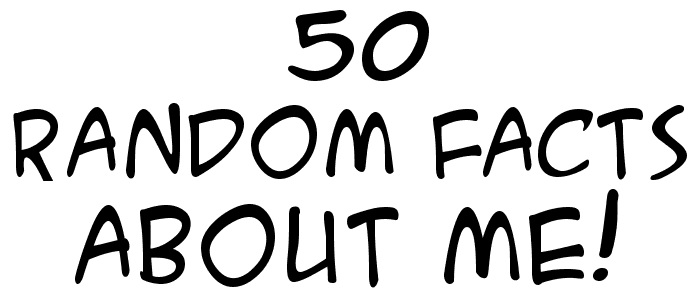 50 random facts about me questions